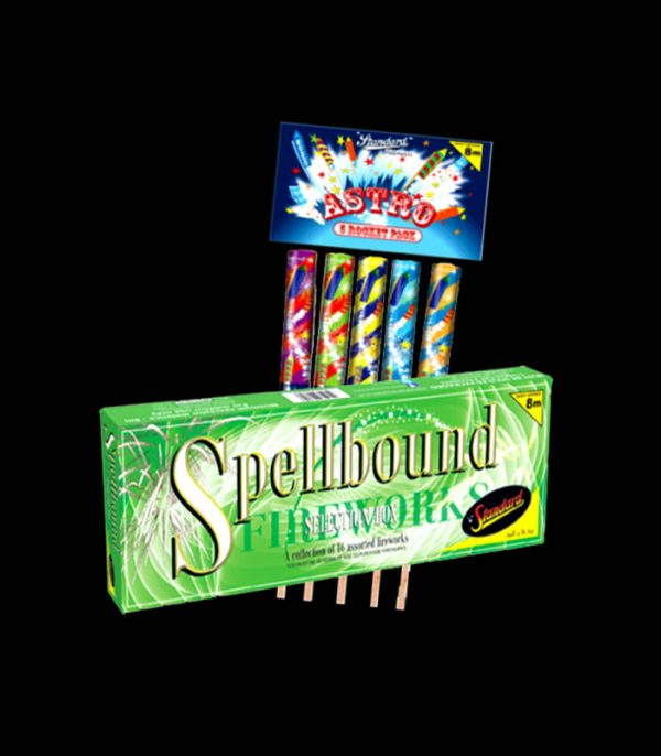 Spellbound Box Pack With Astro Rocket