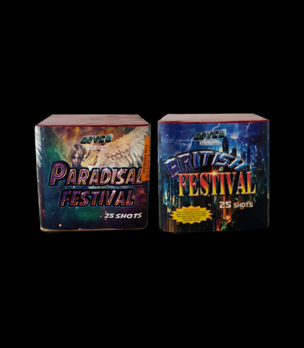 Festival 25 Shorts Mix & Match 2 For £35